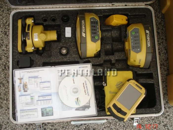 topcon hiper ii gnss rtk gps system with fc 25 pentaland surveying. Black Bedroom Furniture Sets. Home Design Ideas